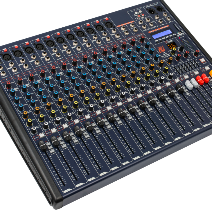 MKX系列带效果 均衡 蓝牙16路调音台