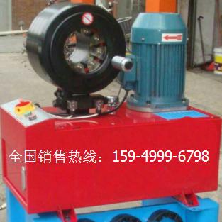 油管压管机 胶管扣压机 液压管缩管机