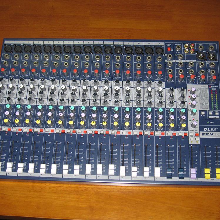 声艺EFX16 带效果 16路调音台