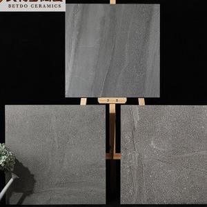 佛山仿古砖客厅餐厅地砖卫生间墙砖 灰色风砂岩复古瓷砖