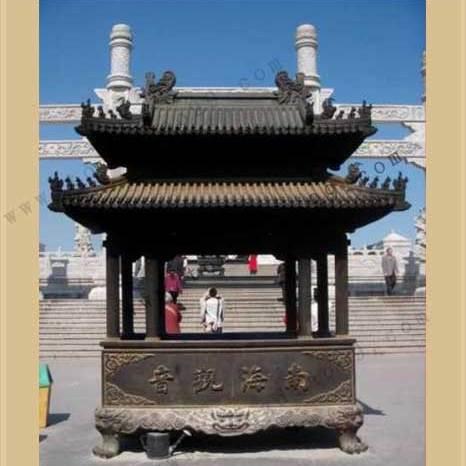 铜香炉_博创制作铜香炉_河北博创铜雕厂