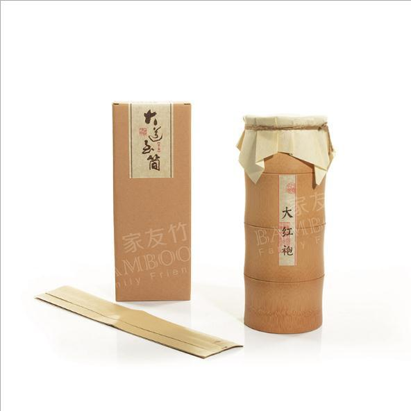 供应  家友竹茶叶包装竹质茶叶罐 环保散茶竹制包装礼盒