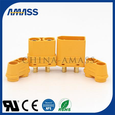 大电流45A插头XT90H 锂电池用45A插头 锂电池充电接口