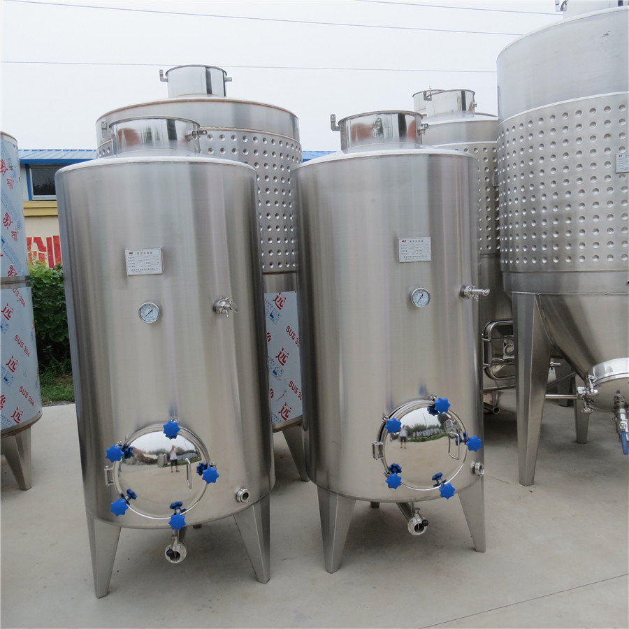 山东美德自酿葡萄酒成套酿酒设备发酵罐破碎机灌装机过滤机压塞机消毒机