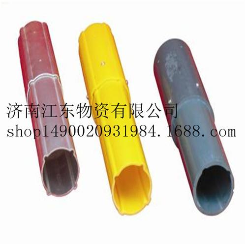 济南PVC测斜管 国标PVC测斜管 地铁基坑专用70mm高精度测斜管  圆形U型测斜管
