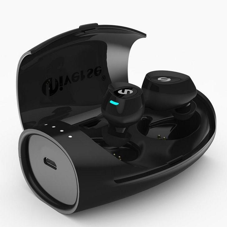 爆款 TWS无线对耳蓝牙耳机隐形迷你耳机运动跑步入耳式充电盒