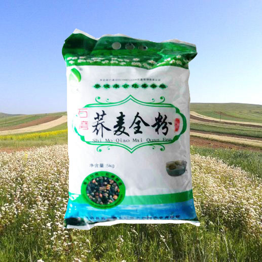 陕北特色产品靖边县红盛小杂粮5kg健康美味营养石磨荞麦全粉