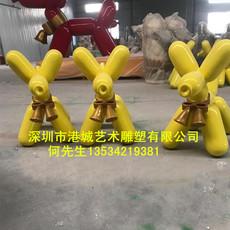 厂家直销定制玻璃钢气球雕塑 玻璃纤维商场美陈装饰道具工艺品摆件