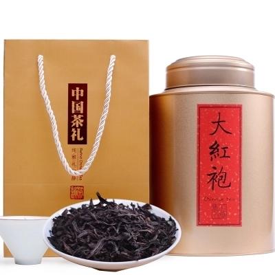 供应 武夷山岩茶浓香乌龙茶500g铁罐装