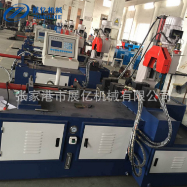 供应350伺服液压全自动切管机 数控液压切管机钢管切割机自动送料