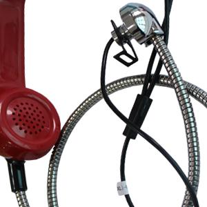 公用电话机配件手柄防爆防水室外听筒A01