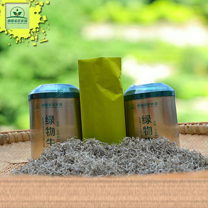 来凤藤茶系列-绿物生(龙须茶) 藤茶罐装2罐100g