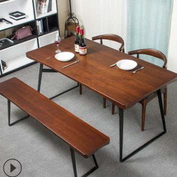 供应 美式家用实木餐桌
