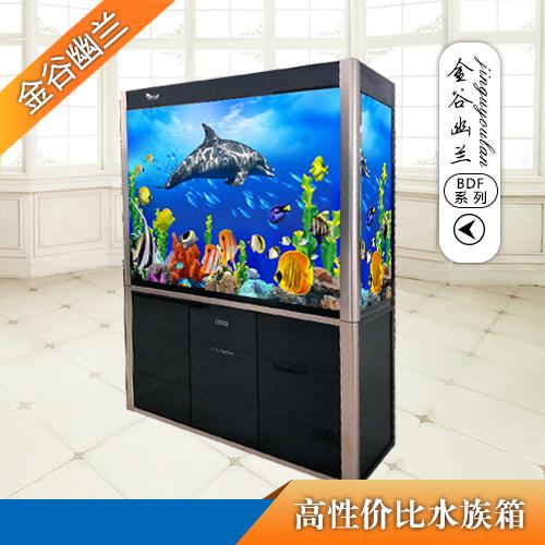 金谷幽兰BDF-80大型鱼缸水族箱过滤底滤鱼缸