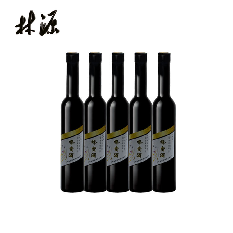 优选秦岭最好蜜源林源蜂蜜酒蜜香型女士美容养颜酒375ml