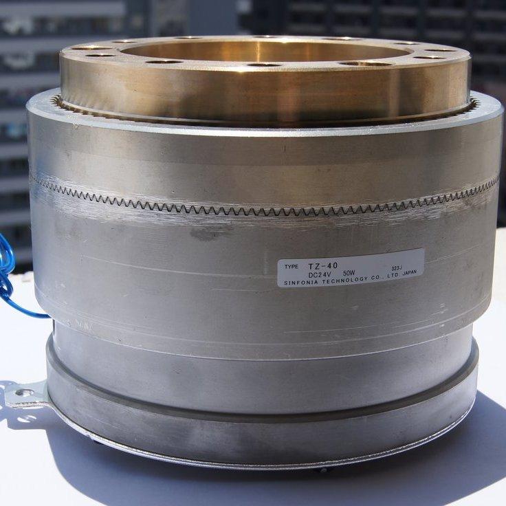 日本SINFONIA轴承安装型齿式离合器神钢离合器TZ-40价格优惠