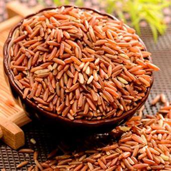 海南特产 定安冷泉富硒红米