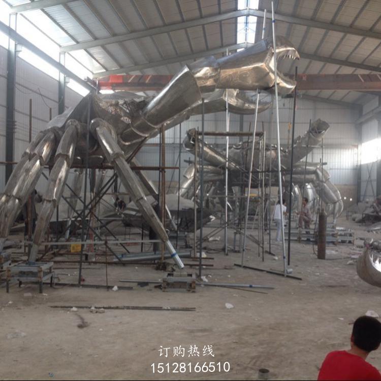 金属螃蟹雕塑厂家-不锈钢螃蟹雕塑厂家-螃蟹雕塑厂家
