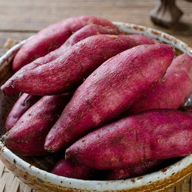供应 乡窝头临安天目山小香薯 板栗红薯 新鲜 A级农家地瓜非紫薯5斤装