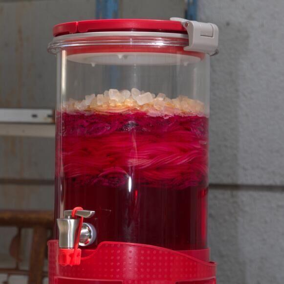 自酿玻璃酵素桶 玻璃酵素罐 做酵素的瓶子10-50斤加厚自动排气