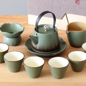 供应 德玉堂粗陶茶具套装日式陶瓷功夫茶具