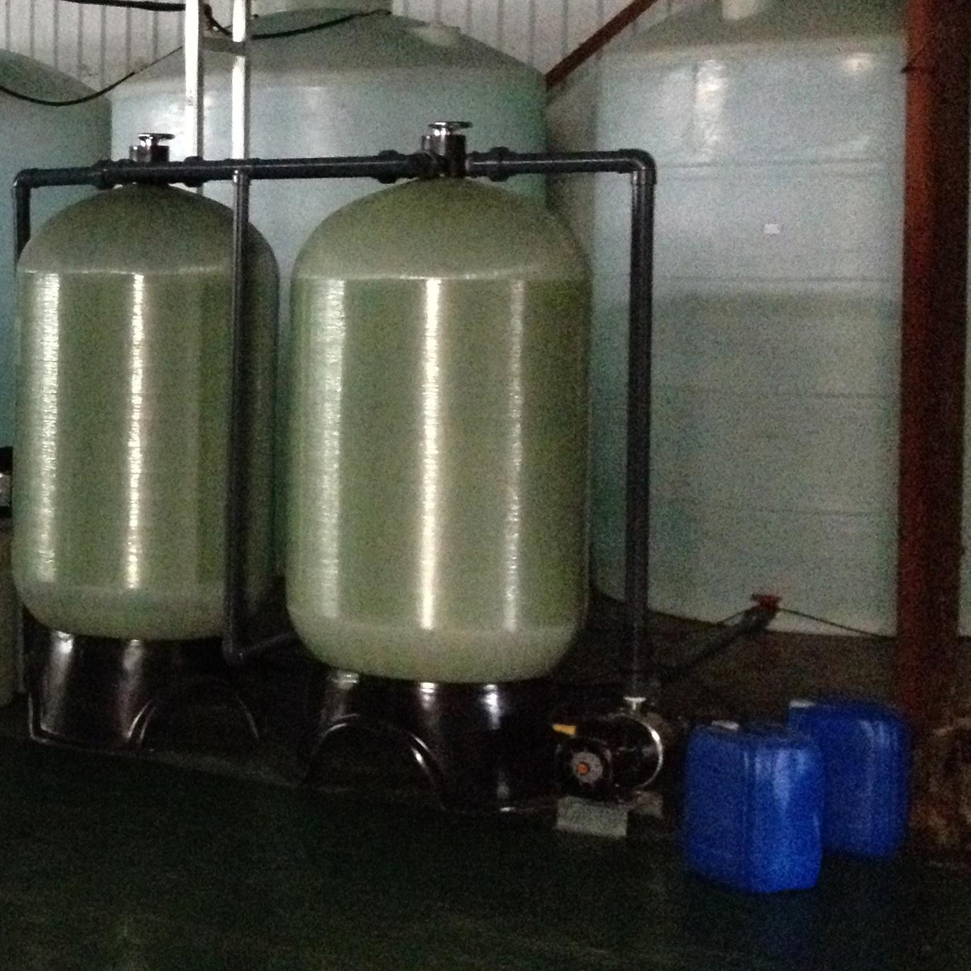 鼎欣1-10T每小时软化水设备