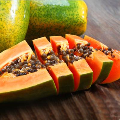 供应 新鲜水果一级海南红心木瓜