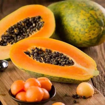 供应 越南进口青皮木瓜红心红肉木瓜