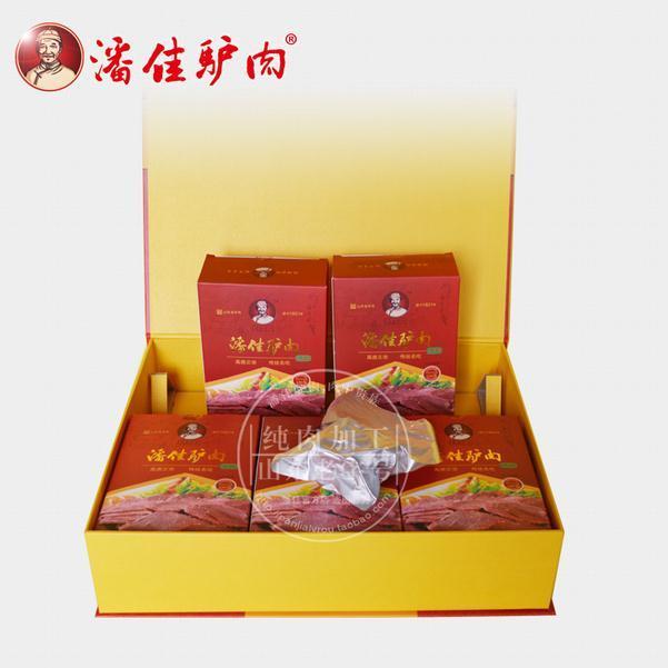 100g 5盒 潘佳五香驴肉礼盒