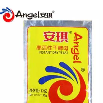 供应 安琪低糖高活性干酵母 包子馒头发酵粉12g30包 送蒸笼布1片