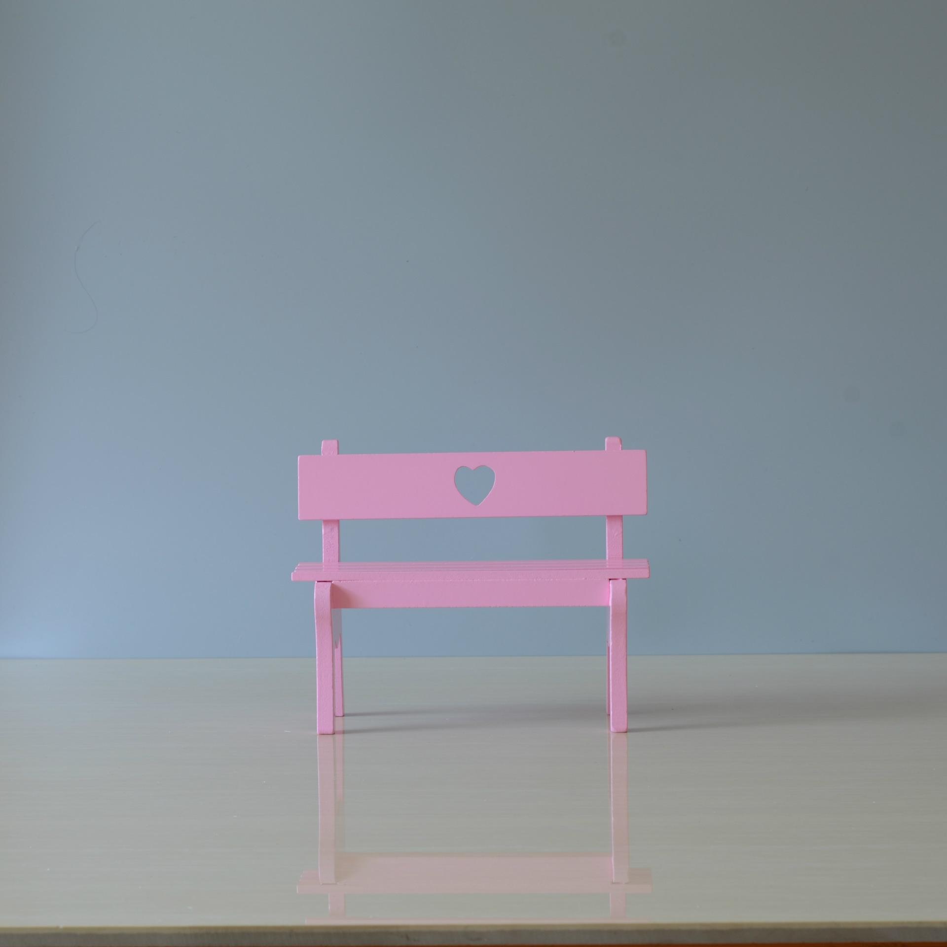ins装饰小椅子木质工艺品 少女心木质摆件创意礼品批发
