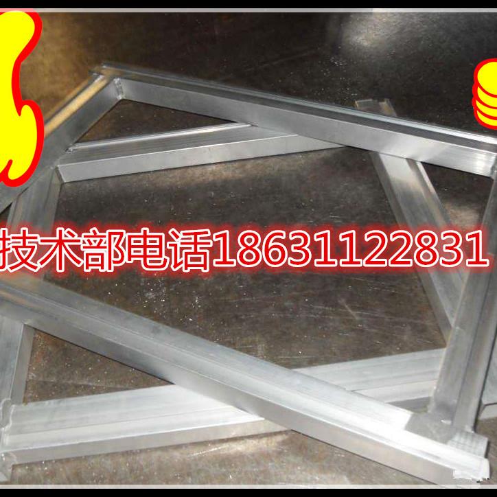 源头厂家批发定制服装印花手工跑台框铝框 90度焊接 出头1公分
