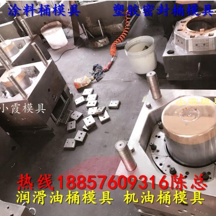 台州20升液体塑料桶模具 塑料模具7升乳胶漆桶模具