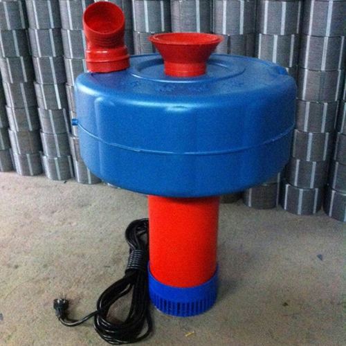 4寸2200w单相220V浮水泵鱼塘增氧机