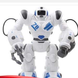 TT353机器人罗本哈特(蓝色) 智能无线遥控充电版 射击滑行科普教学