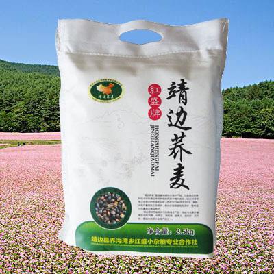 陕北特色产品靖边县红盛小杂粮2.5kg健康营养美味靖边荞麦面粉