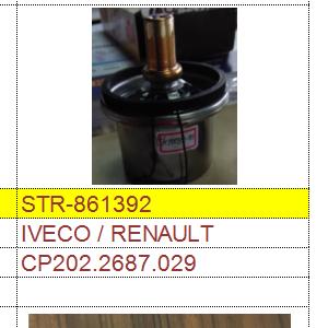 汽车节温器 CP202.2687.029