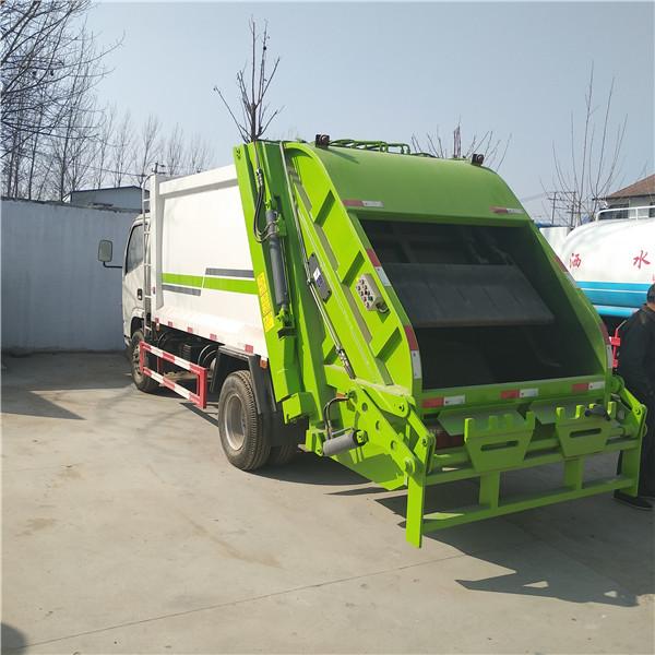 郓城恒达环卫垃圾车挂桶式垃圾车压缩式垃圾车价格
