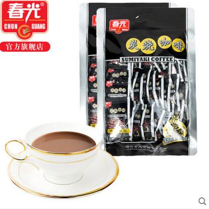 供应 中啡纯速溶黑咖啡粉 拍1发2共80杯 无糖 特浓纯苦
