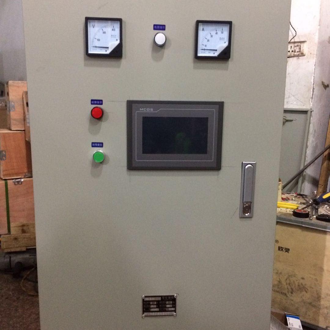 浙江登泉消防自动巡检控制柜 WYK-XFXJ-30KW 3CF认证一对一AB签 自带PLC触摸屏
