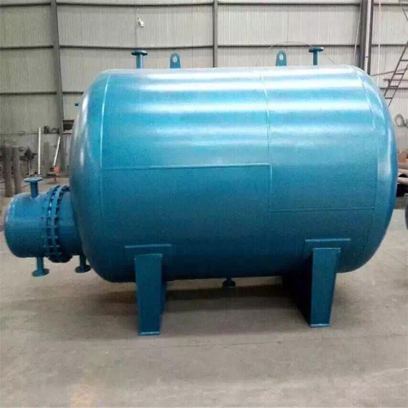 山东骏达 rv容积式换热器 立式 水水 2立方容积式换热器 低价热销图片