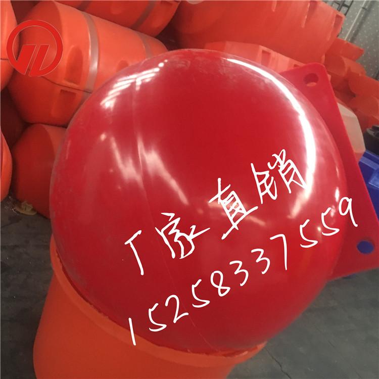 厦门直径1米区域划分浮球 水库警示一米浮球