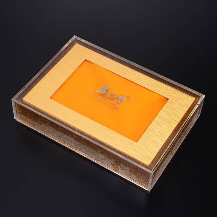 粤丰展示专业生产定制亚克力包装盒