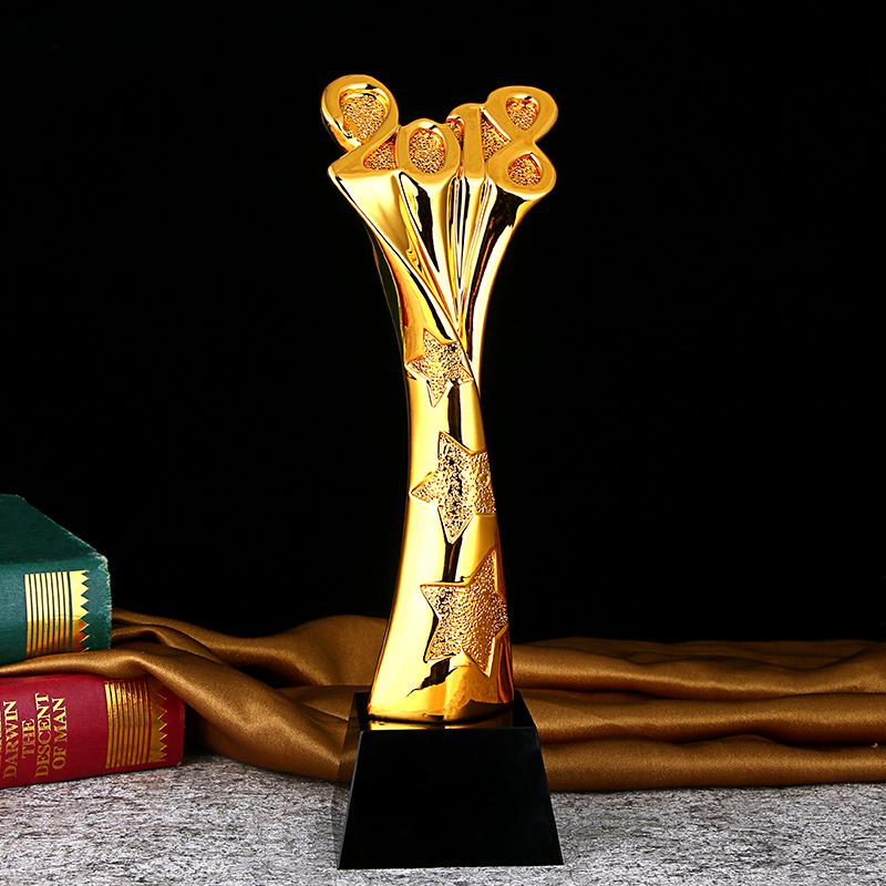 高档K9水晶奖杯 厂家直销 可定制水晶金属奖杯