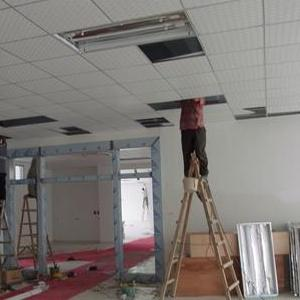 专接深圳龙华办公室吊顶隔断隔墙水电布线轻质砖彩钢板等工程服务