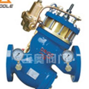 YQ980011型过滤活塞式流量控制阀水力控制防护