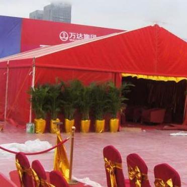 湖北餐蓬厂家定做婚庆棚子 租赁18米展览大蓬 20米车展篷房 30米啤酒大蓬