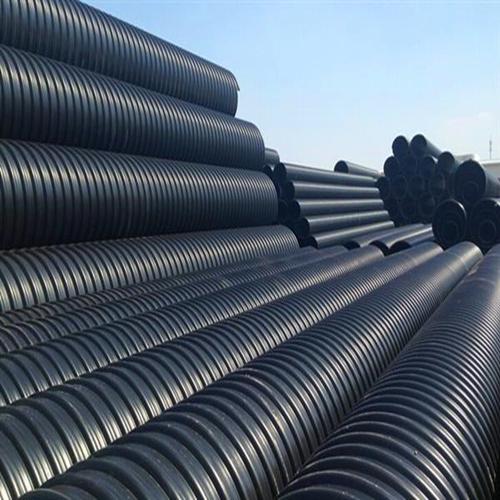 长期供应统塑钢带PE螺旋波纹管厂家直销