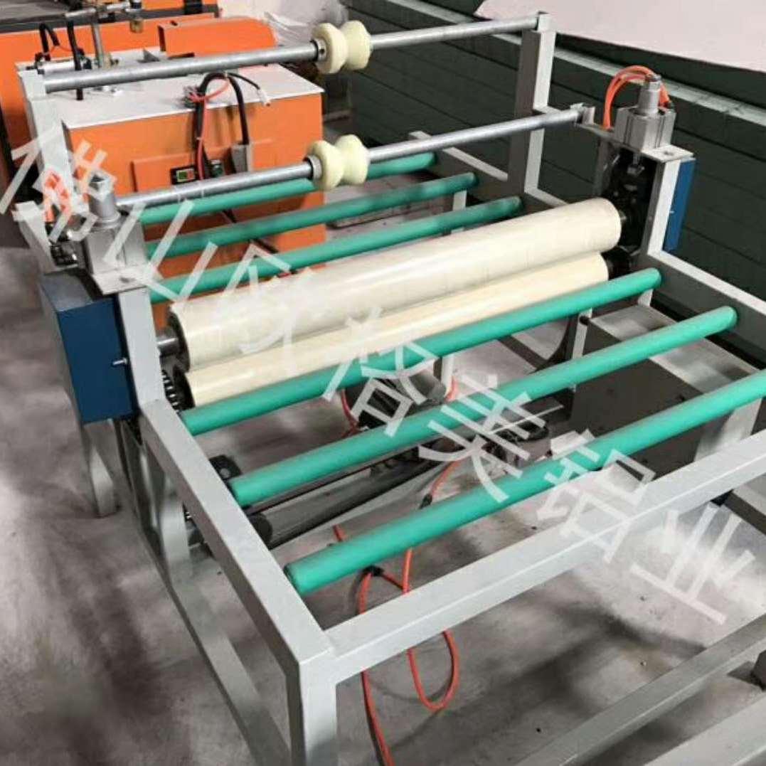 供应专业晶钢门覆膜机