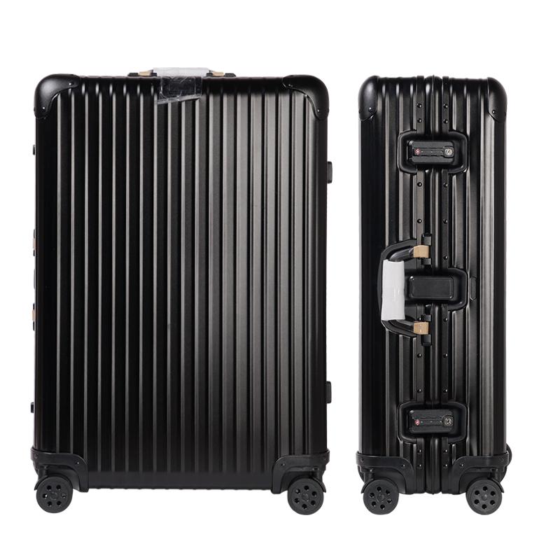 供应 全铝镁合金拉杆箱全金属行李箱包登机箱硬箱子托运旅行箱28寸